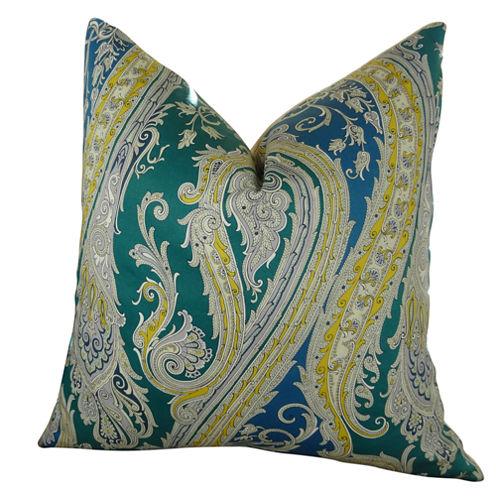 Plutus Fun Paisley Handmade Throw Pillow