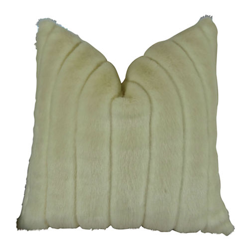 Plutus Fancy Mink Handmade Throw Pillow