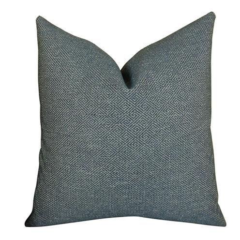 Plutus Textured Blend Handmade Throw Pillow