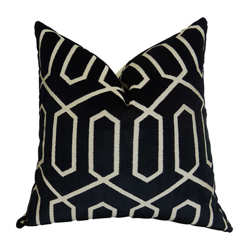 Plutus Bengal Lattice Handmade Throw Pillow