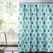 Olina with Metal Hooks Shower Curtain Set