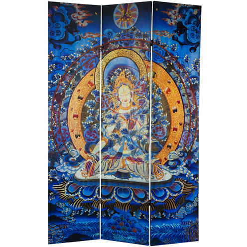 Oriental Furniture 6' Tara Tibetan Room Divider