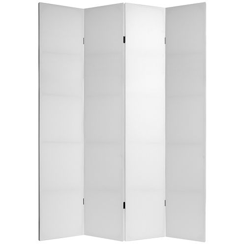 Oriental Furniture 7' Do It Yourself 4 Panel RoomDivider