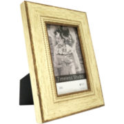 Madison White & Gold Tabletop Picture Frames
