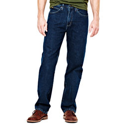 Lee Relaxed-Fit Straight-Leg Mens Jeans in Newman, Tomas, or Worn Light