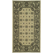 Courtyard Medallion Indoor/Outdoor Rectangular Rugs