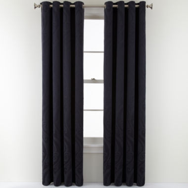 jcpenney.com | Royal Velvet® Whittier Grommet-Top Curtain Panel