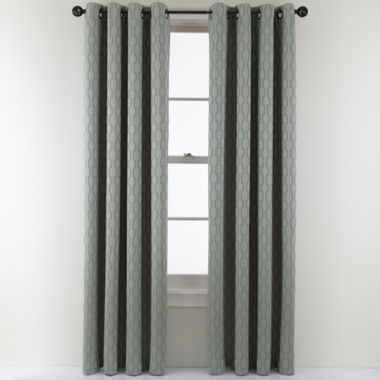 jcpenney.com | Studio™ Luna Grommet-Top Lined Blackout Curtain Panel