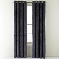 Royal Velvet® Augusta Velvet Window Curtain Panel