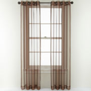 Studio™ Open and Shut Grommet-Top Sheer Curtain Panel