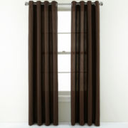 Studio™ Leaves Grommet-Top Curtain Panel