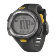 Soleus Mens P.R. 30-Lap Black Strap Sport Watch