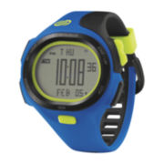 Soleus Mens P.R. 30-Lap Blue Strap Sport Watch