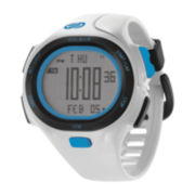 Soleus Mens P.R. 30-Lap White Strap Sport Watch