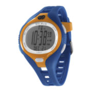 Soleus Mens Dash 30-Lap Blue Strap Sport Watch