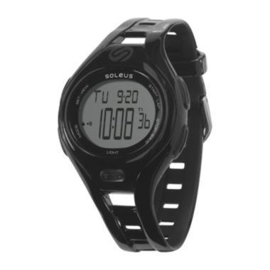 jcpenney.com | Soleus Dash Womens Black Digital Running Watch