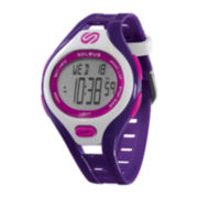 Soleus Womens Dash 30-Lap Purple Strap Sport Watch