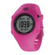 Soleus Womens GPS Mini Pink Strap Chronograph Watch