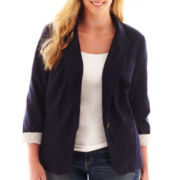 jcp™ Knit Blazer - Tall