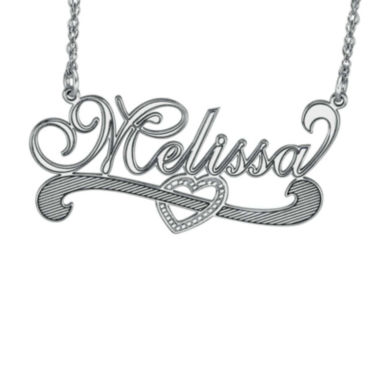 jcpenney.com | Personalized Sterling Silver Name Necklace