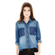 Joe Fresh™ Long-Sleeve Denim Shirt