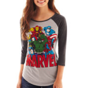 Freeze Marvel® Raglan-Sleeve Tee