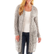 Arizona Marled Duster Cardigan - Plus
