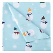 Home Expressions™ Holiday Snowman Microfiber Sheet Set