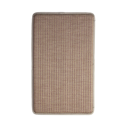 Basketweave Anti-Fatigue Chef's Rectangular Kitchen Rug