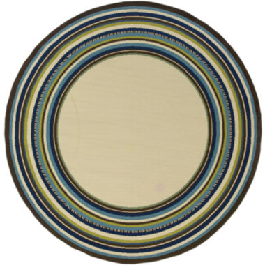 jcpenney.com | Covington Home South Hampton Indoor/Outdoor RoundRug