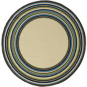 South Hampton Indoor/Outdoor Round Rug