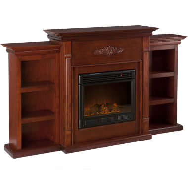 jcpenney.com | Killian Electric Fireplace with Bookcases