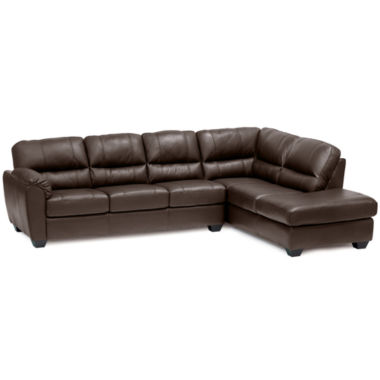jcpenney.com | Leather Possibilities 2-pc. Right-Arm Corner Chaise/Sofa Sectional