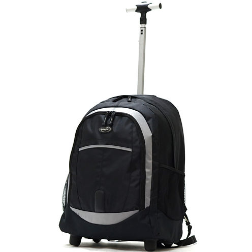 "Olympia 19"" Rolling Wheeled Backpack"