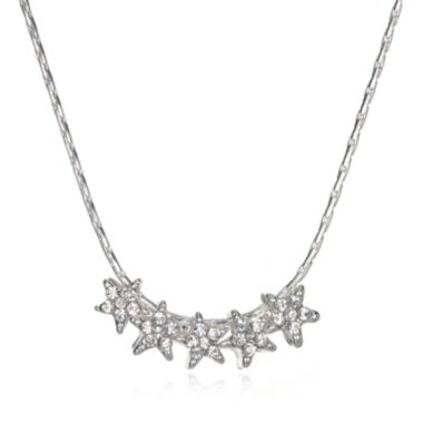 jcpenney.com | Mixit™ Five-Star Silver-Tone Necklace