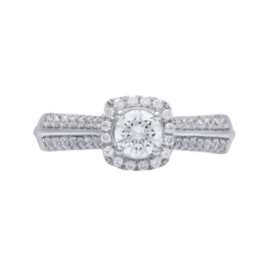 jcpenney.com | Opulent Diamond 3/4 CT. T.W. Certified Diamond 14K White Gold Ring