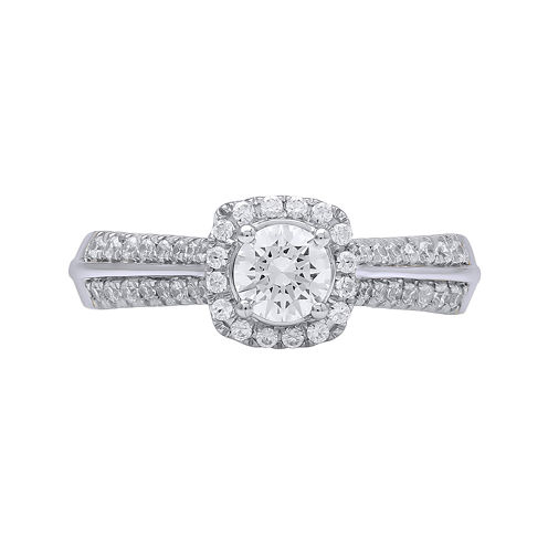 Opulent Diamond 3/4 CT. T.W. Certified Diamond 14K White Gold Ring