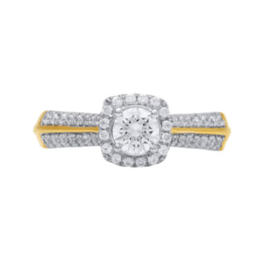jcpenney.com | Opulent Diamond 3/4 CT. T.W. Certified Diamond 14K Yellow Gold Ring