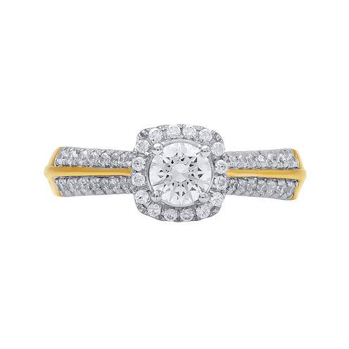 Opulent Diamond 3/4 CT. T.W. Certified Diamond 14K Yellow Gold Ring