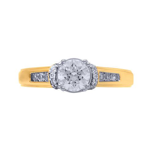 Opulent Diamond 1 CT. T.W. Certified Diamond 14K Yellow Gold Ring