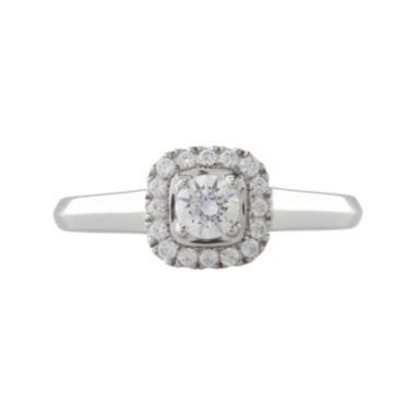 jcpenney.com | Opulent Diamond 1/2 CT. T.W. Certified Diamond 14K White Gold Ring