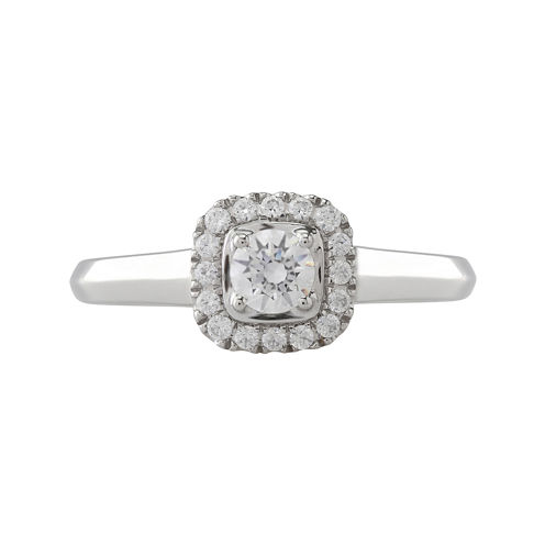 Opulent Diamond 1/2 CT. T.W. Certified Diamond 14K White Gold Ring