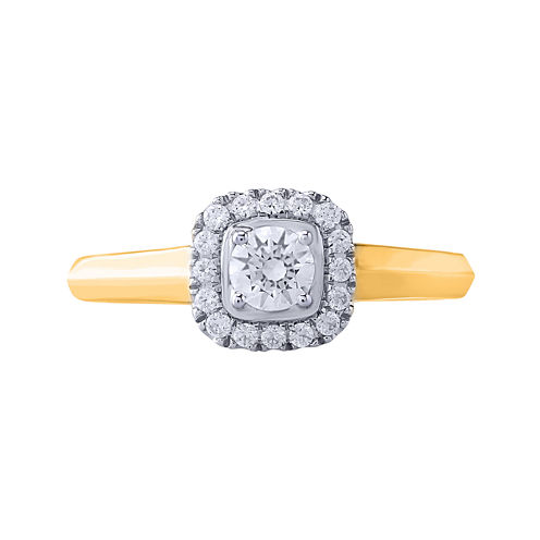 Opulent Diamond 1/2 CT. T.W. Certified Diamond 14K Yellow Gold Ring