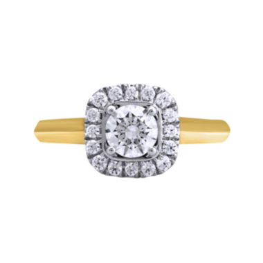 jcpenney.com | Opulent Diamond 1 CT. T.W. Certified Diamond 14K Yellow Gold Ring