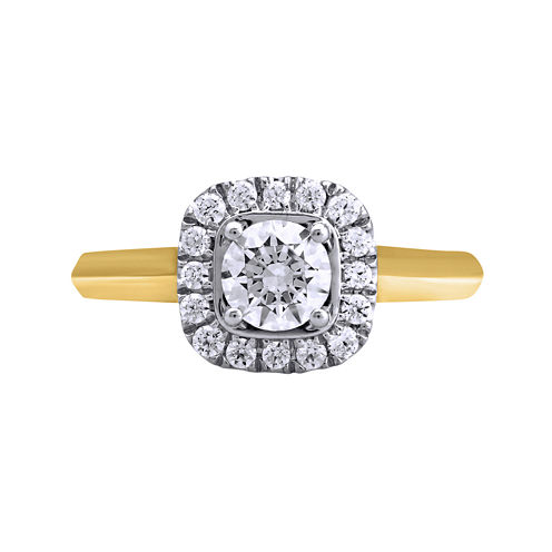 Opulent Diamond 1 CT. T.W. Certified Diamond 14K Yellow Gold Ring