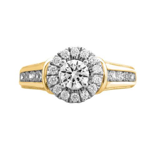 Opulent Diamond 1¼ CT. T.W. Certified Diamond 14K Yellow Gold Ring