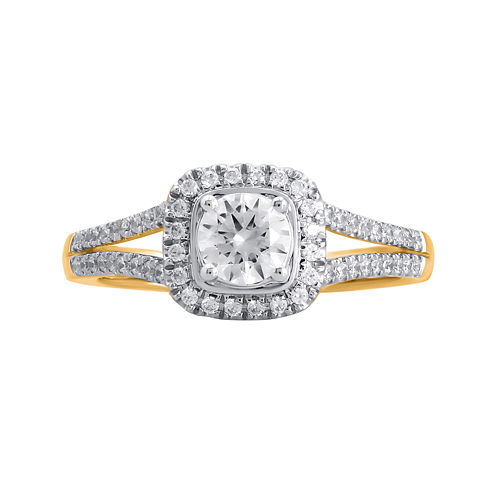 Opulent Diamond 3/4 CT. T.W. Certified Diamond 14K Yellow Gold Ring