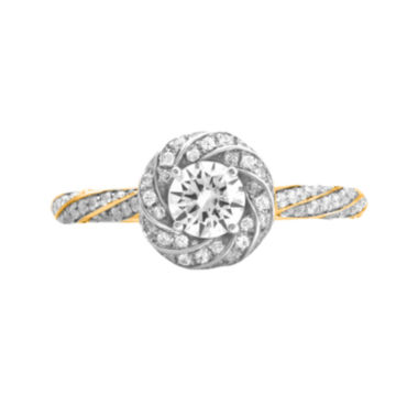 jcpenney.com | Opulent Diamond 7/8 CT. T.W. Certified Diamond 14K Yellow Gold Twist Ring