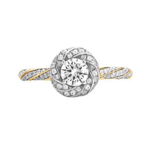 Opulent Diamond 7/8 CT. T.W. Certified Diamond 14K Yellow Gold Twist Ring