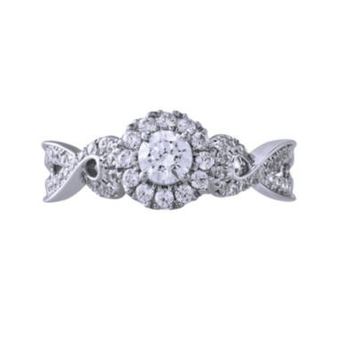 jcpenney.com | Opulent Diamond 5/8 CT. T.W. Certified Diamond 14K White Gold Twist Ring